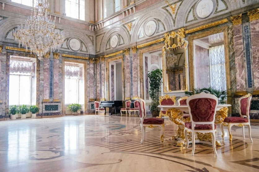 Мраморный дворец (с посещением покоев Великого князя К. К. Романова)