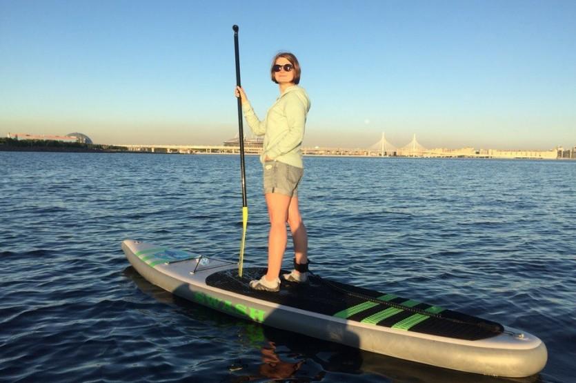Сап-серфинг в СПб
