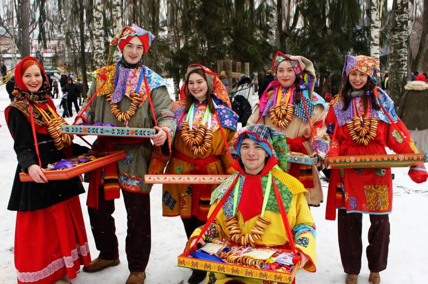 Масленичные традиции Лужского уезда