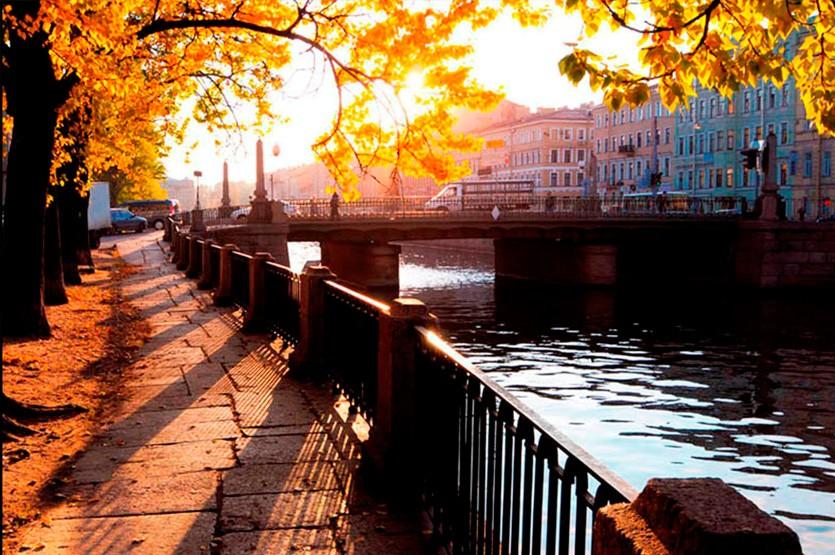 Какая погода ждет гостей Санкт-Петербурга в осенний период